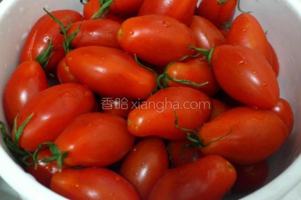 玉女小番茄的做法