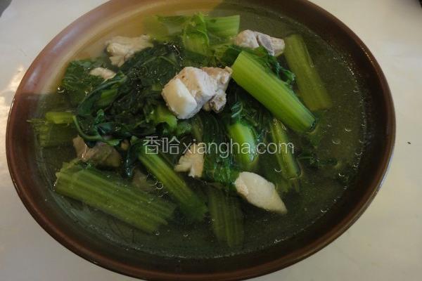 芥菜排骨汤