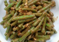 芝麻酱拌豇豆。