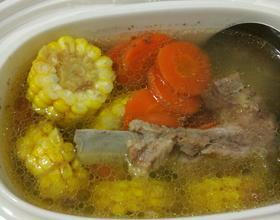 玉米胡萝卜排骨汤[图]