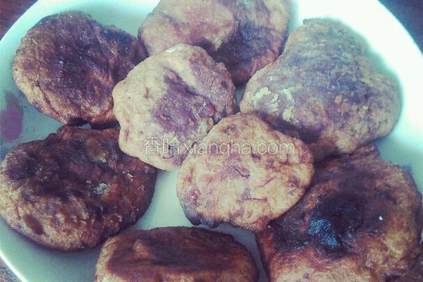 懒人紫薯饼
