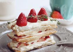 草莓拿破仑