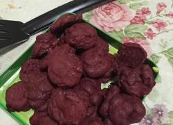 红曲米曲奇饼干