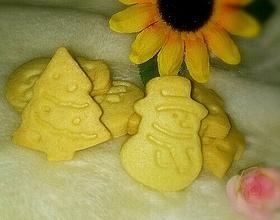 圣诞树/雪人曲奇饼干