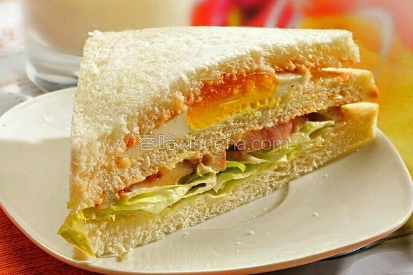 各种小吃的做法大全_简单的三明治的做法_菜谱_香哈网