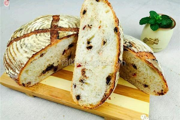 <面包>苹果图兰朵天然酵母面包制作配方(图文教程)-叁拾而立烘焙学院,配方每周五更新