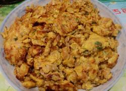 萝卜干煎鸡蛋