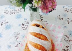 全麦红糖桂圆面包