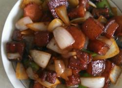 洋葱红烧肉