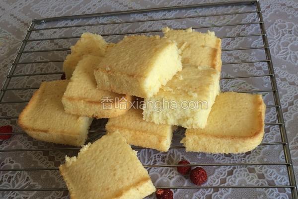 松松软软黄蛋糕