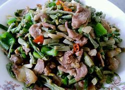 风味豇豆炒肉