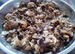 香菇蒜蓉蒸鸡肉