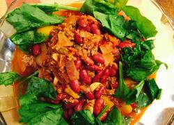 墨西哥著名的辣椒牛肉酱汤