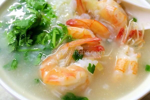 干貝海鮮粥
