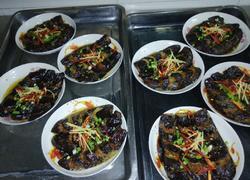 豉油蒸鱼鳞茄子