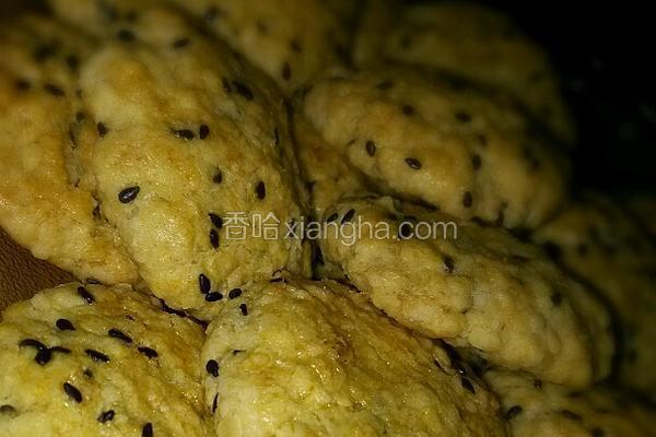燕麦椰蓉饼干