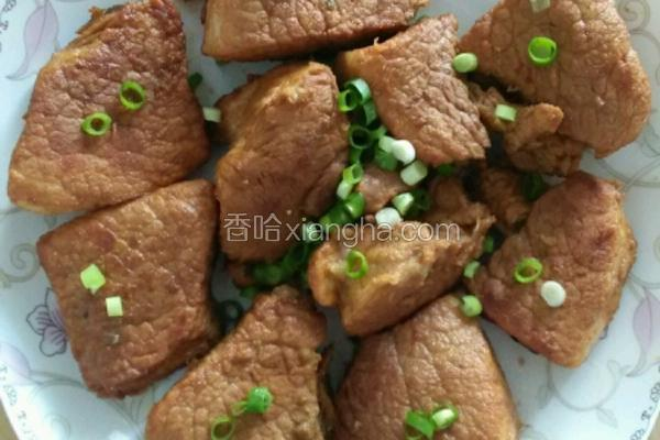 红烧瘦猪肉