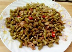 自制酸豆角炒肉末――JIARU
