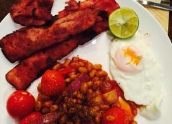 简易英式早餐