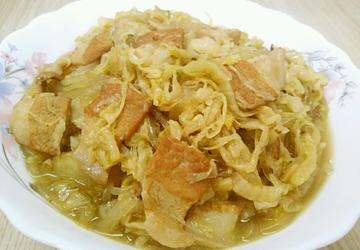 酸菜豬肉燉粉條