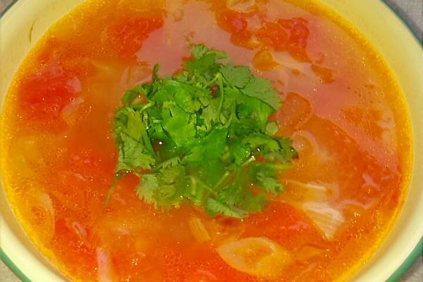 番茄冬瓜汤