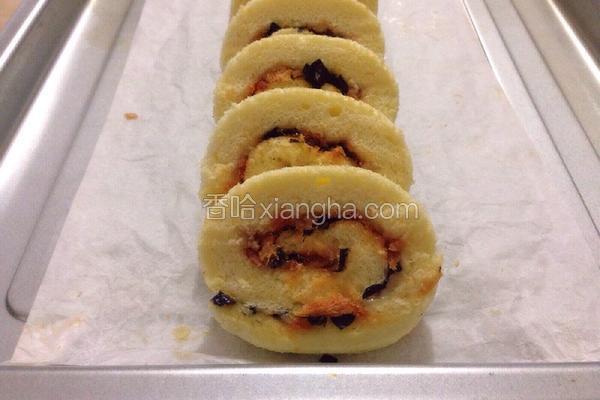海苔肉松蛋糕卷