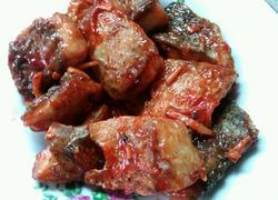 番茄酱魚块