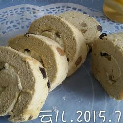 密豆绿茶蛋糕卷