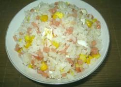火腿玉米蛋炒饭
