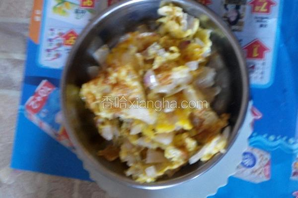 洋葱炒鸡蛋