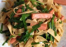 韭菜豆腐皮