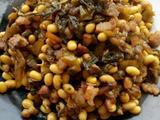 肉丁酸菜黄豆芽的做法[图]