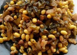 肉丁酸菜黄豆芽