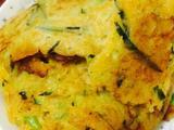 南瓜丝鸡蛋饼的做法[图]