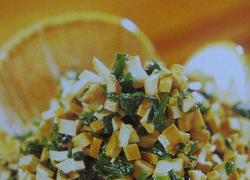 菠菜拌豆干