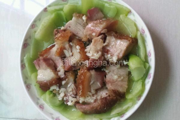 上海青回锅肉