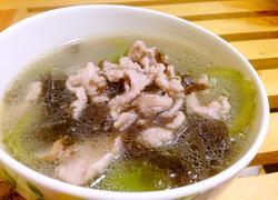 紫菜丝瓜瘦身汤