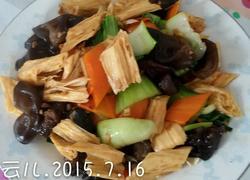 清炒素食菜