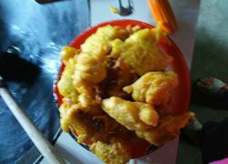 茄子土豆南瓜花饼