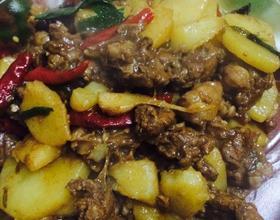 土豆燒牛肉[圖]