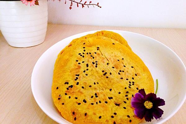 南瓜芝麻饼