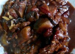 西红柿肉片熬茄子