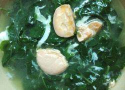 枸杞菜咸蛋汤