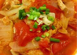 西红柿白菜豆腐