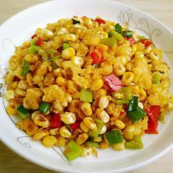 双椒甜玉米