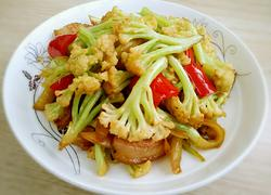 煸炒有机花菜