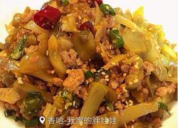 榨菜丝炒肉末