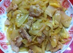 潮汕咸菜炒肉片