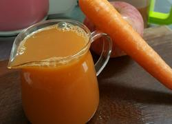 胡萝卜苹果汁