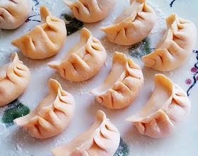 胡萝卜皮猪肉芹菜水饺